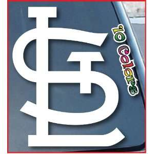 St. Louis Cardinals Car Window Vinyl Decal Sticker 5 Tall