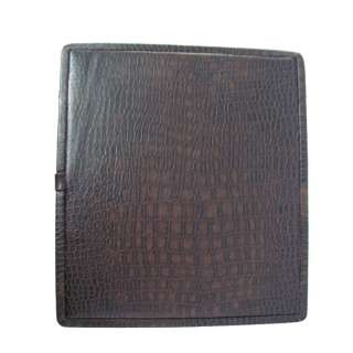 WATCH BROWN LEATHER JEWELRY STORAGE CASE VANITY BOX GIFT INDIA