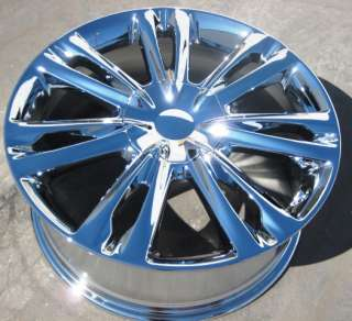 YOUR STOCK  4 NEW 18 FACTORY HYUNDAI GENESIS OEM CHROME WHEELS RIMS