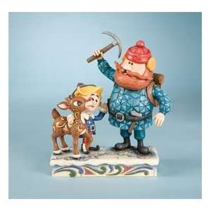 Jim Shore, Rudolph, Hermey and Yukon Figure Home