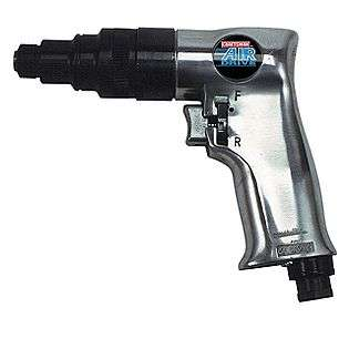 in. Drive Screwdriver, Pistol Grip  Craftsman Tools Air