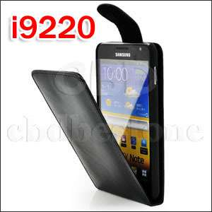 Glossy Leather Flip Case Cover for Samsung Galaxy Note GT N7000 i9220