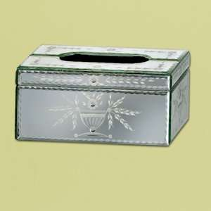 Venetian Gems Prima Mirror Tissue Box Bath