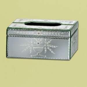 Venetian Gems Prima Mirror Tissue Box Bath
