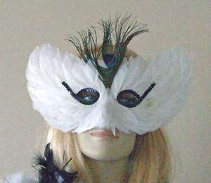Halloween Party Lunar Moth Mask Costume Party A