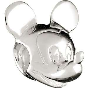 Chamilia Disney Mickey Mouse Head Bead DIS 1: Chamilia: Jewelry
