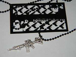 HITMAN BIKES Spec Ops M4 ball chain necklace 24 inch new mens bling