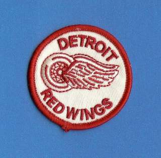 Detroit Red Wings NHL Hockey Small Patch Crest Yzerman