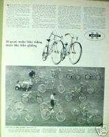 1967 Huffy Rail,Belair,Dragster,Carlton Bicycle/Bike AD