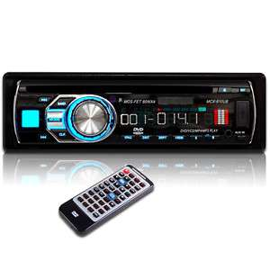 IN DASH DVD CD SD USB CAR STEREO PLAYER Detachable 9610