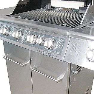Dual Energy Outdoor Gas Grill w/ LED Backlit Control Panel  KitchenAid