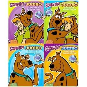 Scooby Doo JUMBO 96 Page Coloring Books 12PK Assortment