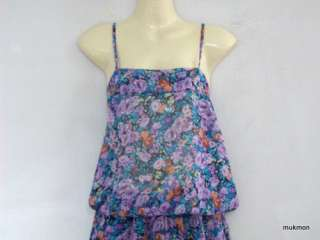 Long Maxi Dress Pants Slacks Jumpsuits Purple,Free Size XS M