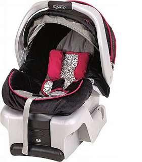Graco SnugRide Click Connect 35 Infant Car Seat Minnie\'s Garden Rear ...