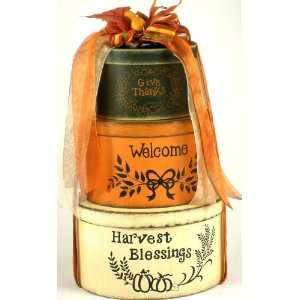 Harvest Blessings: Fall Gift Basket:  Grocery & Gourmet