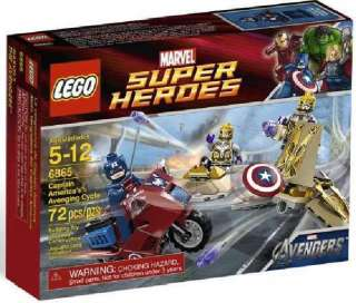 LEGO MARVEL SUPER HEROES CAPTAIN AMERICA 6865 SET AVENGERS