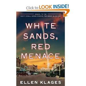 White Sands, Red Menace [Paperback] Ellen Klages Books