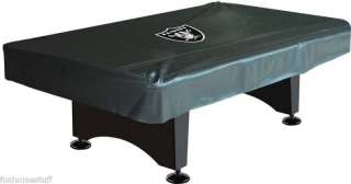 New Oakland Raiders 8 Pool / Billiard Table Logo Cover