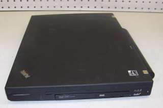 IBM THINKPAD T61p CORE 2 DUO 2.4GHz/ 2GB/ 160GB/ WIFI