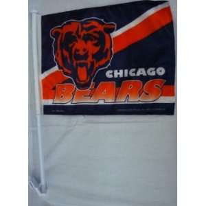 NFL CHICAGO BEARS TEAM LOGO CAR FLAG
