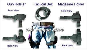 Piece Drop Leg Pistol Holster, Magazine holder & Tactical Belt