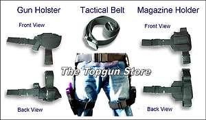 Piece Drop Leg Pistol Holster, Magazine holder & Tactical Belt