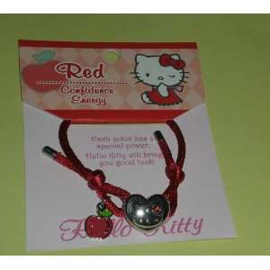 Hello Kitty Band Bracelet   Red   Confidence Energy Toys & Games