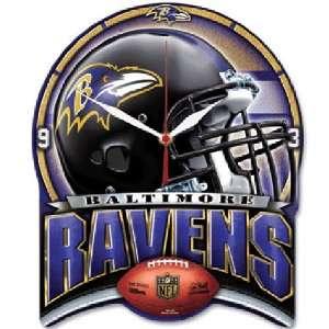 Baltimore Ravens Nfl High Definition Clock Sports