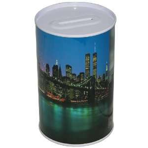 New York Manhattan Coin Money Bank / Jar: Toys & Games
