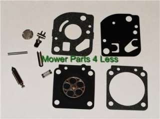 Genuine Zama RB 71 RB71 Carburetor Rebuild Kit