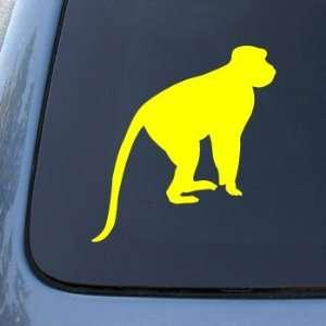 BABOON MONKEY CHIMP   Vinyl Car Decal Sticker #1728  Vinyl Color
