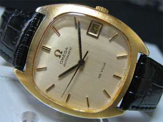 Vintage 1970 80s OMEGA Automatic watch [DeVille] Cal.1012