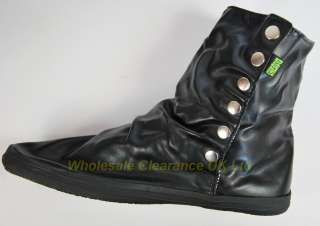 search joblot of 10 mens cheapo black popper ankle boots