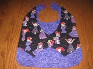 Handmade adult Vest Bib Red hat Society Betty Boop