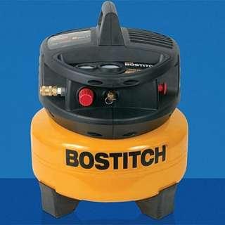 BOSTITCH CAP2000P OF 2 HP Peak 6 Gallon Oil Free Portable Pancake Air