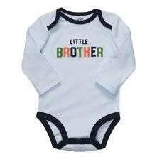 BNWT  Carters LS Light Blue Little Brother Bodysuit Fall 2011