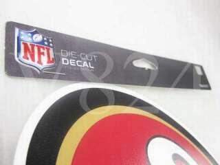 NFL San Francisco 49ers 8x8 Die Cut Decal Sticker