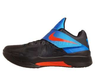 Nike Zoom KD IV X 4 Kevin Durant Black Orange Blue 2012 Thunders 35