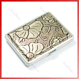 Pocket Metal Figure Cigarette Tobacco Case Holder 16 Pc