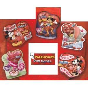 Greeting Card   Valentines Day (5 different) Valentines Day Die cut