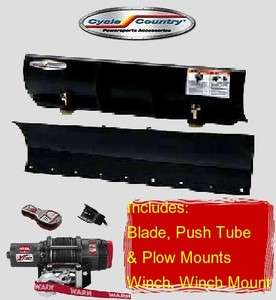 Cycle Country Polaris 800 Ranger RZR Plow Kit Winch