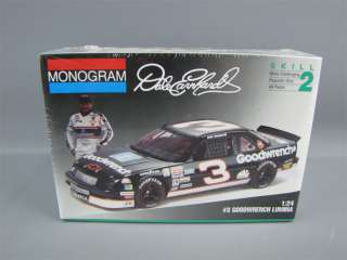 Sealed Nascar Goodwrench Chevy Lumina #3 Model Kit 1/24
