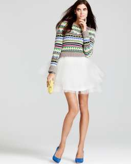 Juicy Couture Bright Fair Isle Sweater & more   Contemporary