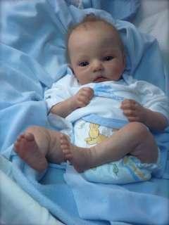 Bébé REBORN baby by Christine Noel New Huggy bear Dianna Effner