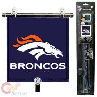 Denver Broncos Auto Sun Shade 1