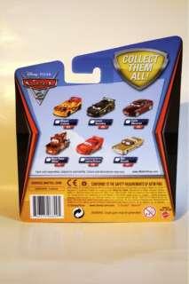 Disney Pixar Cars 2 ROD TORQUE REDLINE, Mel Dorado and Carlo Maserati