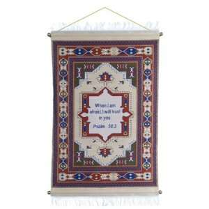 Tapestry, Wall Hanging (Psalms 56:3):  Home & Kitchen