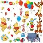 RoomMates RMK1498SCS Pooh and Friends Peel & Stick Wall Decal
