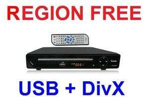 ALL Multi Region Code Zone Free DVD Player PAL NTSC $