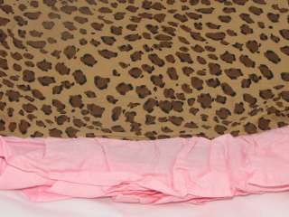 Girls Pink Spotted Twin Bed Skirt Ruffled Company Kids reg$45